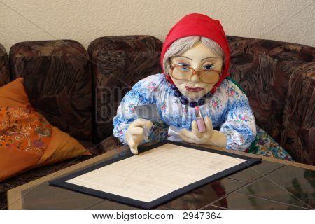 Granny'S Makeup