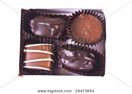 Mini Gift Box Of Fancy Chocolates