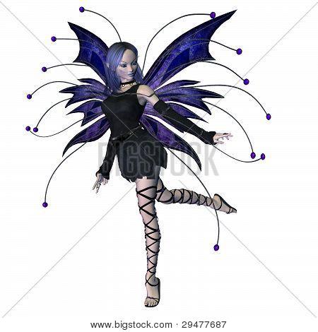Winter Goth Fairy - 3