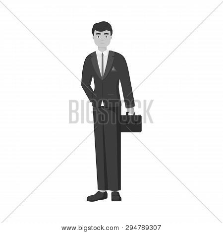 Vector Illustration Of Man  And Business Icon. Set Of Man  And Businessperson  Stock Vector Illustra