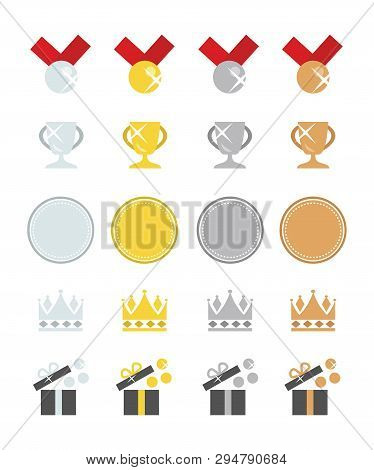 Awards In Platinum, Gold, Silver And Bronze