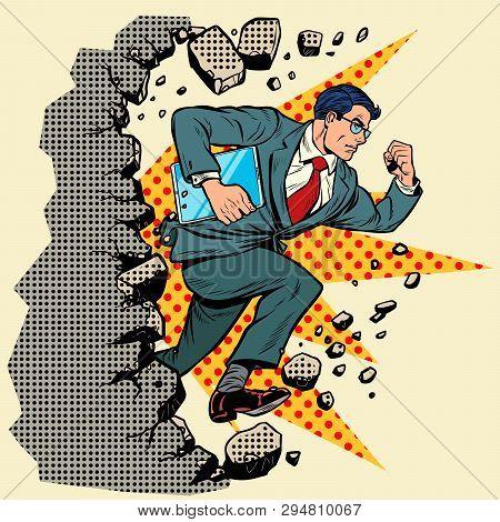 Leader Gadget Novation Breaks A Wall, Destroys Stereotypes. Moving Forward, Personal Development. Po