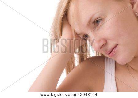 Woman Daydreaming