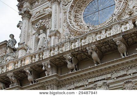 Lecce Basilica Facade
