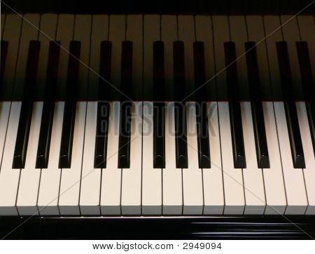Reflected Piano Keys