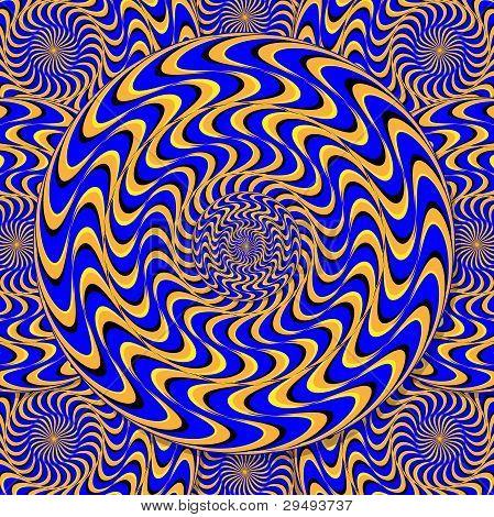 Mystic Motion Wheels  (motion illusion)
