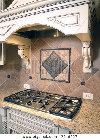 Luxury Kitchen Cooktop With Hood 2