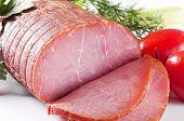 Rolled Fillet of Ham poster