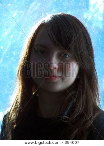 Portrait Of The Sad Girl