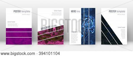 Abstract Cover. Uncommon Design Template. Suminagashi Marble Geometric Poster. Uncommon Trendy Abstr