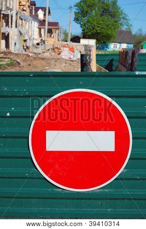 A traffic sign