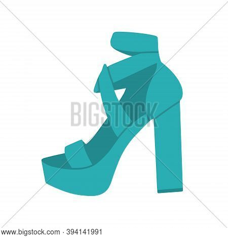 .fashionable Women S High-heeled Shoes. Elegant Sandals