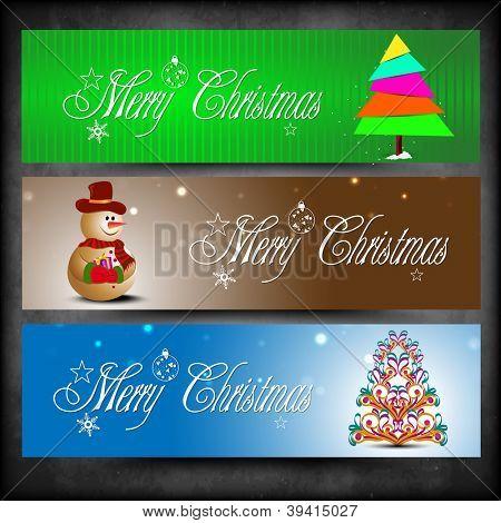Website header or banner for Merry Christmas celebration. EPS 10.