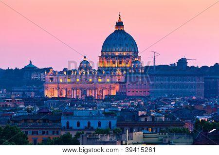 St. Peter's Basilica, The Vatican.