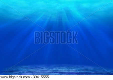 High Definition Images Of Sunlight Streaming Into The Ocean Floor
