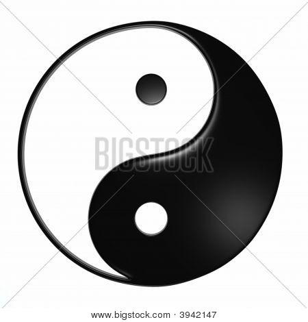 Ying Yang - Isolated