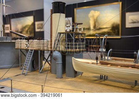 Russia, St. Petersburg 26,11,2019 The Central Naval Museum Is One Of The Oldest Museums In Russia An