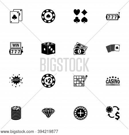 Gambling Icon - Expand To Any Size - Change To Any Colour. Perfect Flat Vector Contains Such Icons A