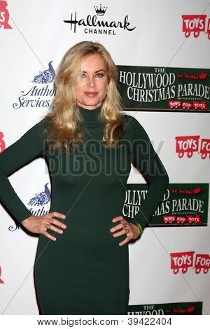 LOS ANGELES - NOV 25:  Eileen Davidson arrives at the 2012 Hollywood Christmas Parade at Hollywood & Highland on November 25, 2012 in Los Angeles, CA