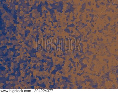 Watercolor Fashion Camouflage. Orange Combat Pattern. Camo Background. Abstract Soldier Print. Fashi
