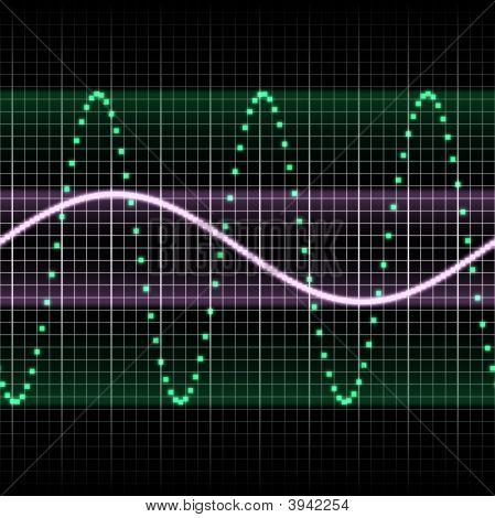 Sl Green Sound Wave