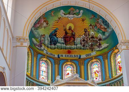 St. Michael Cathedral Catholic Church Built By German Missionaries In Qingdao