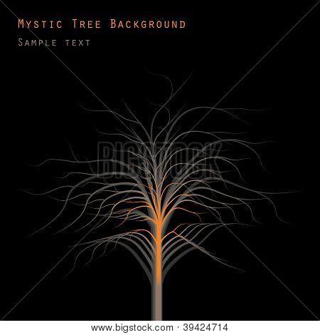 Mystic Tree Background