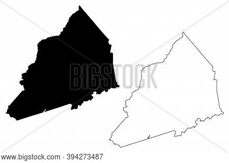 Transylvania County, North Carolina State (u.s. County, United States Of America, Usa, U.s., Us) Map