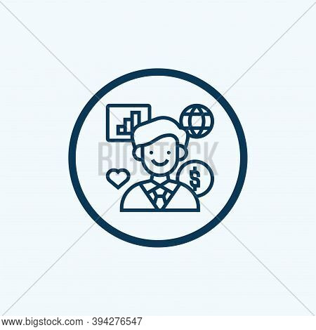 Corporate Responsibility Icon. Simple Element From Business Management Collection. Creative Corporat