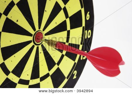 Dart On Dart Board