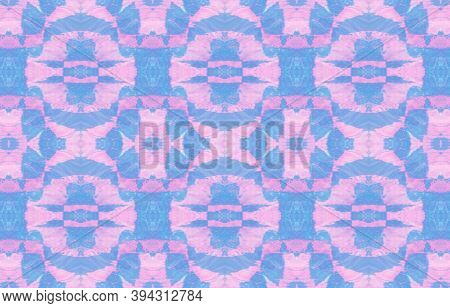 Watercolor Geometry. Handdrawn Batik Ethnic Border. Ethnic Ornament. Abstract Mexican Aztec Textile