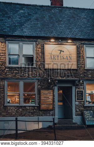 Frome, Uk - October 04, 2020: Exterior Of Artisan Pub In Frome, A Market Town In The County Of Somer