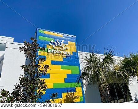 Orlando, Fl/usa-2/29/20: The Amazing Explorers Academy Preschool And Daycare In The Laureate Park Ne
