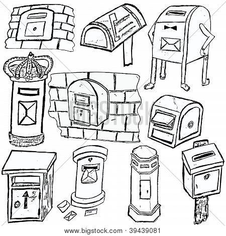 Post Box Sketches