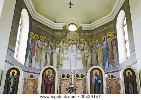 Church Of St. Anne - Painted On The Altar