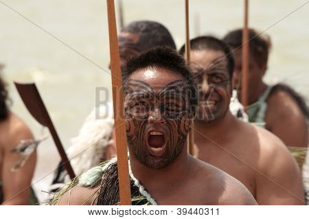 Fierce Maori Warrior
