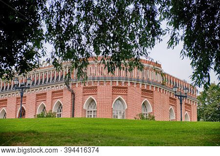 Tsaritsyno - Palace And Park Ensemble In The South Of Moscow. Building In The Museum Complex - Russi