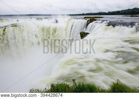 Garganta Del Diablo - Iguazu Waterfalls, Argentina. South America