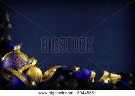 Dark Blue Christmas