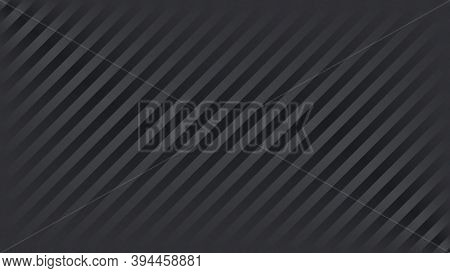 Abstract Black Diagonal Lines Background. Vector Illustration