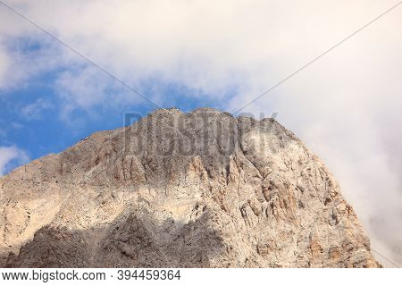Mountains Called Corno Grande In The Massif Of Gran Sasso In Central Italy