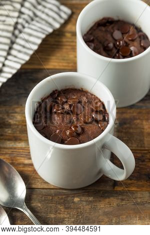 Homemade Chocolate Microwave Mug Brownie