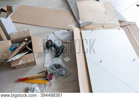 Details New Home Installing Construction Building Industry Interior Remodel Modern Kitchen Interior