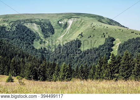 Ploska Hill, Big Fatra Mountains, Slovak Republic. Seasonal Natural Scene. Travel Destination. Hikin