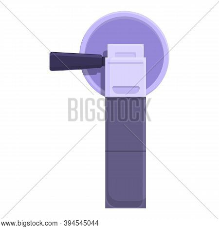 Hand Grinding Machine Icon. Cartoon Of Hand Grinding Machine Vector Icon For Web Design Isolated On