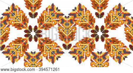 Drapery Curves Pagan Tripe Seamless Pattern. Indian Old Surface Background. Vector Ornament.
