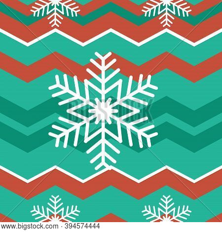 Simple christmas seamless bright pattern.Christmas pattern with Christmas tree, gift boxes and other decorations. Holiday seamless pattern. Merry Christmas and Happy New Year.
