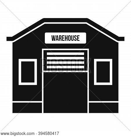 Storage Warehouse Icon. Simple Illustration Of Storage Warehouse Vector Icon For Web Design Isolated