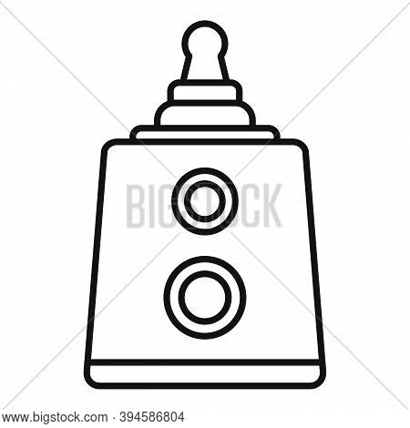Sterilization Baby Nipple Icon. Outline Sterilization Baby Nipple Vector Icon For Web Design Isolate