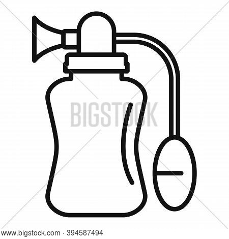 Manual Breast Pump Icon. Outline Manual Breast Pump Vector Icon For Web Design Isolated On White Bac